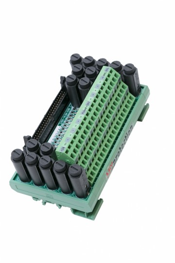 Compact 16 Way Analogue Input Module