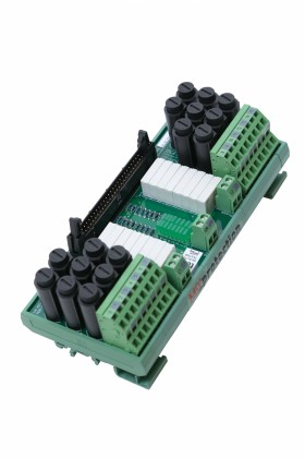 16 Way Relay Output Module - Fused